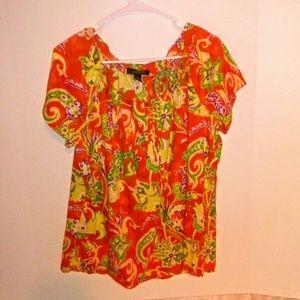 Ralph Lauren BOHO Shirt 2X